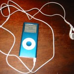 Blue iPod Nano 2nd Gen 4Gb