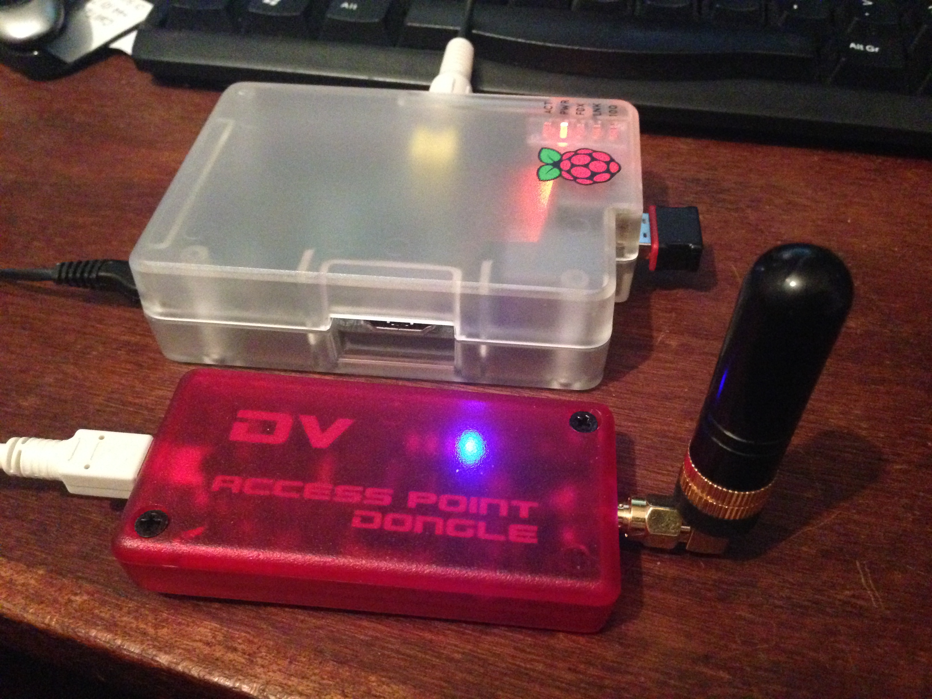 DVAP Dongle 70cms & Raspberry Pi
