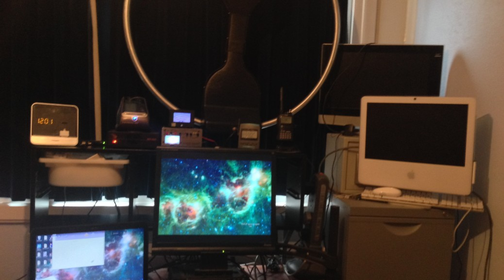New Desk Layout (kind of)